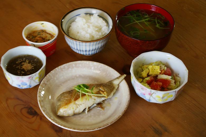 白身魚のオリーブオイル焼き 減塩レシピ